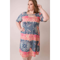 VESTIDO PLUS SIZE MADRESSILVA